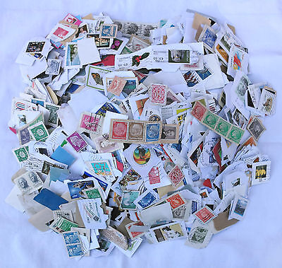 2Kg Used Foreign Kiloware Charity Collected Stamps No Gb On Paper