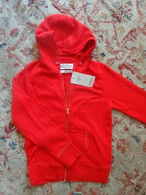 Girls Red Hoodie by Marks & Spencer. Age 11 - 12. BNWT!