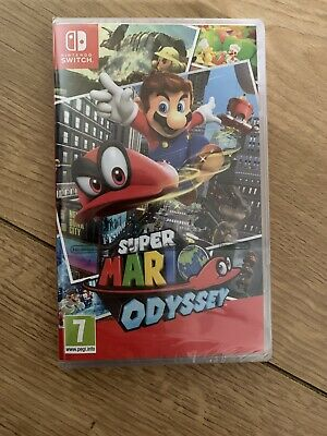 SUPER MARIO ODYSSEY - NINTENDO SWITCH - Original Sealed Brand New
