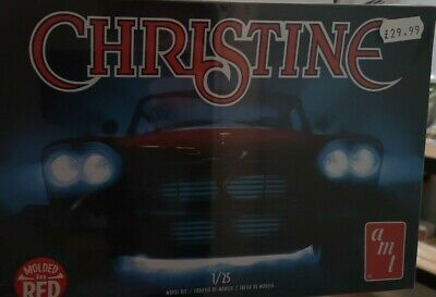 1:25 AMT 1958 Plymouth 'Christine' Plastic Model Kit.