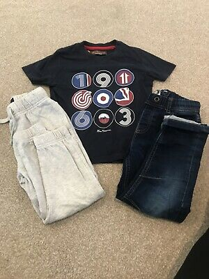 Boys Next Ben Sherman Clothes Bundle Jeans Tshirt Joggers