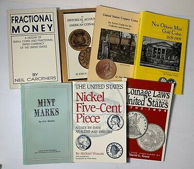 8 Titles on American Numismatics published by Bowers & Merana