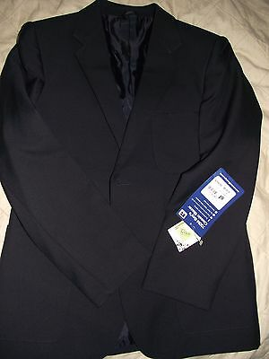 "LOVELY RUSSEL ATHLETIC BOYS NAVY CLASSIC JACKET BLAZER SIZE 35"" 89cm BNWT"