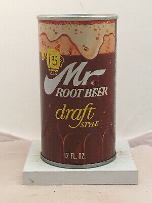 Mr. Root Beer Soda Can