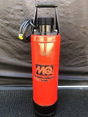 """Multiquip 3"""" Submersible Dewatering Pump 2hp 145gpm 230vac"""