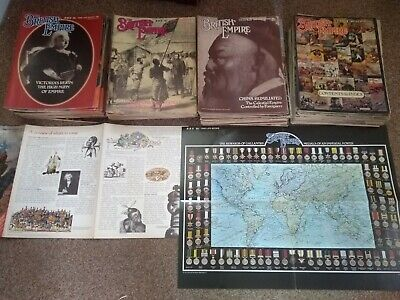British empire magazines 1 - 98 including index available