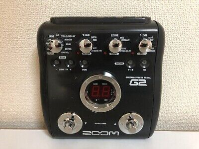 Zoom G2 Multi-Effects Guitar Effect Pedal FMJ free shipping It arrives quickly