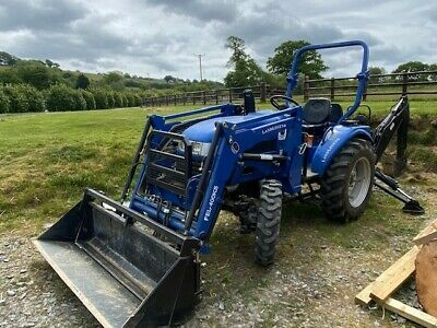 Compact Tractor - Land Legend 40HP with Front Loader & Back Hoe
