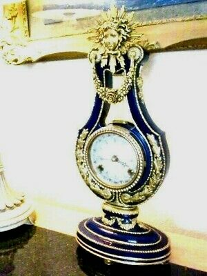 Marie Antoinette Clock By Franklin Mint for Victoria and Albert Museum V.G.C