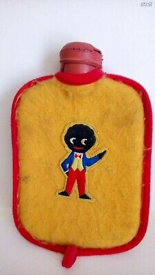 Genuine Vintage Robertsons Childs Hot Water Bottle & Cover Very Rare