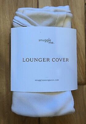 Snuggle Me Organic Infant Lounger Cover - Natural