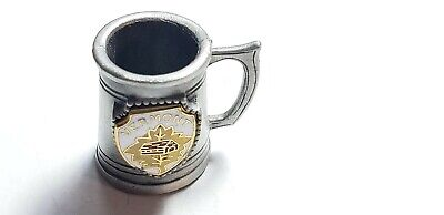 Pewter Collectibles Miniature  Vermont Mug