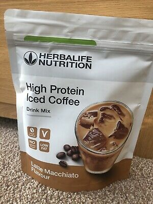 Herbalife High Protein Iced Coffee Latte Macchiato Flavour