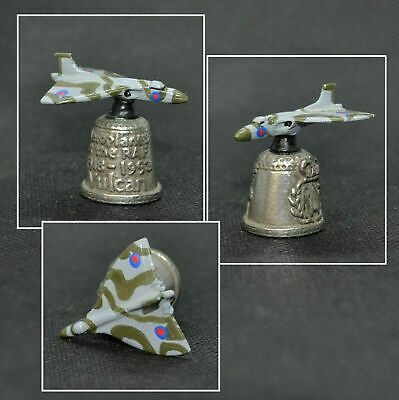 Pewter Stephen Frost Raf Planes Thimble - Vulcan