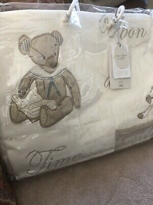Mamas and papas Cot Bed bedding Quilt (Once Upon a Time)NEW