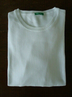 UNITED COLORS OF BENETTON Crew Neck Knit Jumper - L - Exceptional Condition