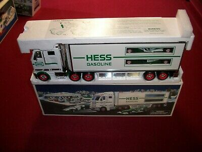 2003 Hess Toy Truck Race Cars .Mint In Mbox