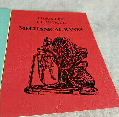 2 1980s Check List/Price Guides of Mechanical Banks/Illustrated/Excellent