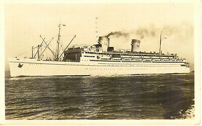 Matson Line's MALOLO ('Flying Fish') of 1927 - with white hull livery  (# 5)