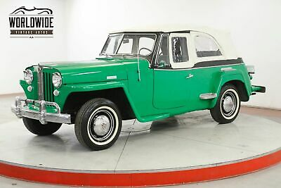 1949 WILLYS JEEPSTER Willys Jeepster 1949 Willys Jeepster Restored! Rare. Great Color, Overdrive! Convertible