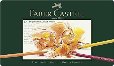 Faber-Castell 110011 Polychromos Colour Pencils, Tin of all 120 Colours