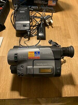 Sony Video Camcorder PAL Video 8 Handycam Vision (CCD-TRV24E) (Used but VGC)