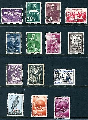 Angola 1948 - 1952 Used and Unused Lot