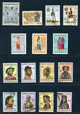 Angola 1953 - 1966 Used and Unused Lot