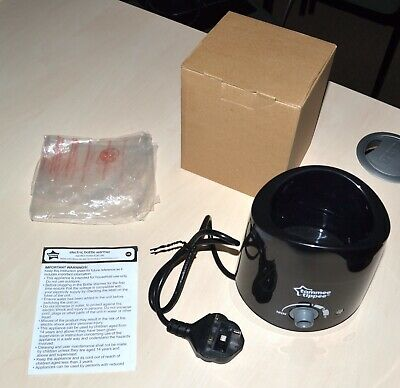Tommy Tippee - Black Bottle Warmer - Boxed & New