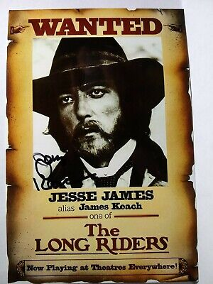JAMES KEACH As JESSE JAMES Hand Signed Autograph 4X6 Photo - THE LONG RIDERS