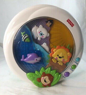 Fisher Price Precious Planet Melodies & Motion Crib Soother Lights Music Sound