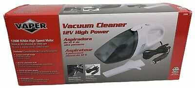 Vaper 22599 12 VOLT HIGH POWER CAR VACUUM CLEANER