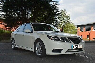Saab 93 9-3 Saloon 1.9 TTiD Diesel 180 BHP White Manual 2009