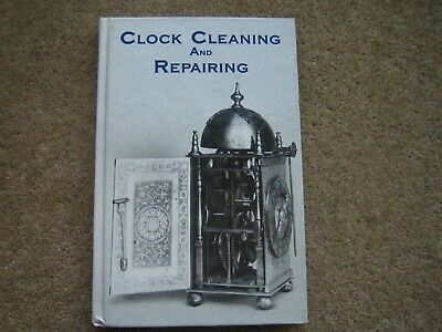 Clock Cleaning & Repairing Book by B E Jones. 94 Illustrations. 1978. Repair
