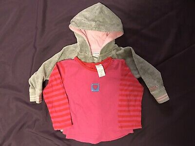 Toddlers Girls Hoodie Next & Top 12-18months