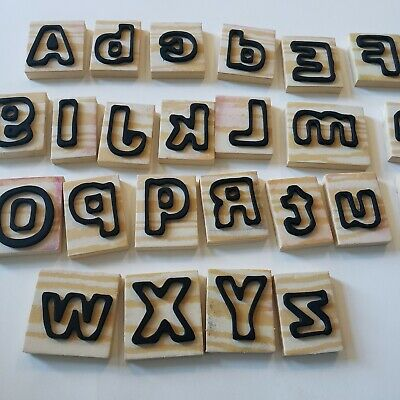 Homemade Alphanumeric Stamps