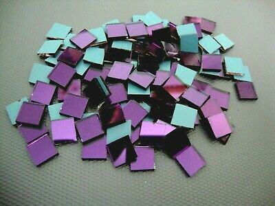 Mosaic mix colour Mirror off cuts, 200 pieces 1.6 mm thick