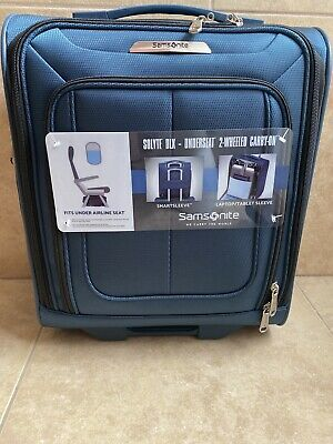 Samsonite Unisex  SoLyte DLX Carry On Expandable Spinner Luggage Mediterranean