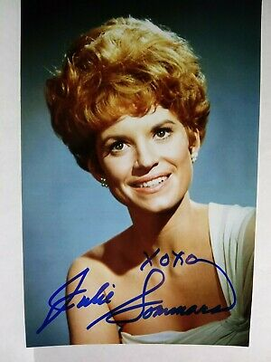 JULIE SOMMARS Authentic Hand Signed 4X6 Photo HERBIE LOVE BUG & MATLOCK ACTRESS