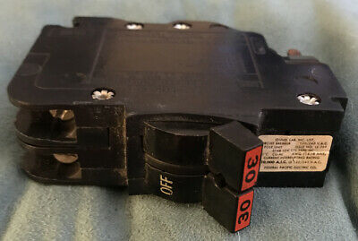 Federal Pacific Electric Double Pole 30 Amp Circuit Breaker