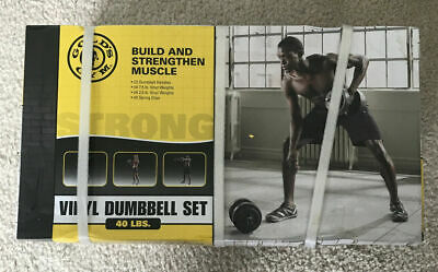 Golds Gym 40 lb Adjustable Weight's RSV-GG42-2 Brand New