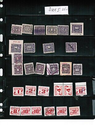 CANADA   COLLECTION of POSTAGE DUES**  USED  cat  $19.00++  LOT 304