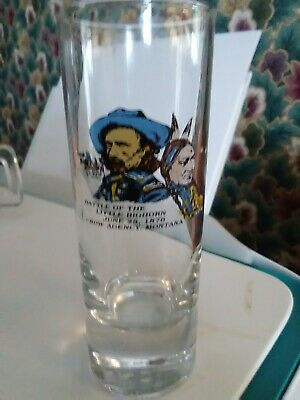 The Battle of Little Big Horn Montana Souvenir Shot Glass Ships n 24hrs