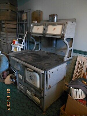 Antique Home Comfort  Cook stove Wrought Iron Range Company