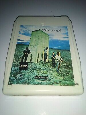The Who Who's Next 8 Cassette Tape
