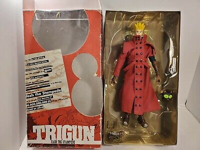 """TRIGUN Vash The Stampede Japan Import 1998 Toycom 12"""" Red Action Figure"""