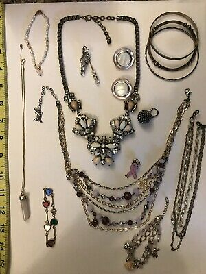 vintage to now mixed junk drawer estate jewelry lot