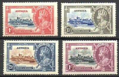 Stamps Br. Commonwealth Antigua 1935 KGV Silver Jubilee Set SG91/SG94 M/M (4)