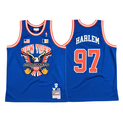 #97 Harlem The Diplomats X New York Knicks Limited Edition Jersey Stitched Top