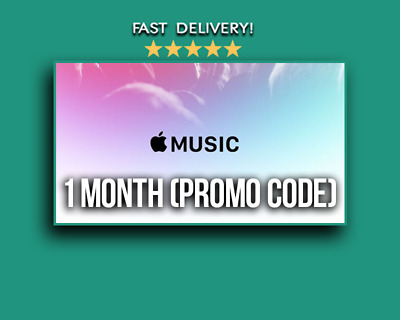 Apple Music | 1 month Code | Email Delivery